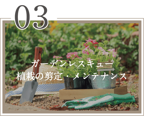ガーデンレスキュー